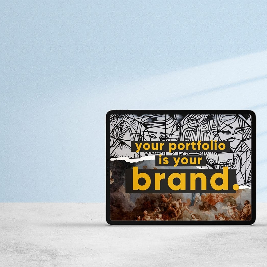 Your Portfolio Is Your Brand. Make It Shine.